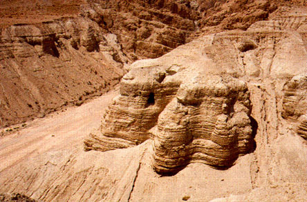 Qumran—the site where the Dead Sea Scrolls were found